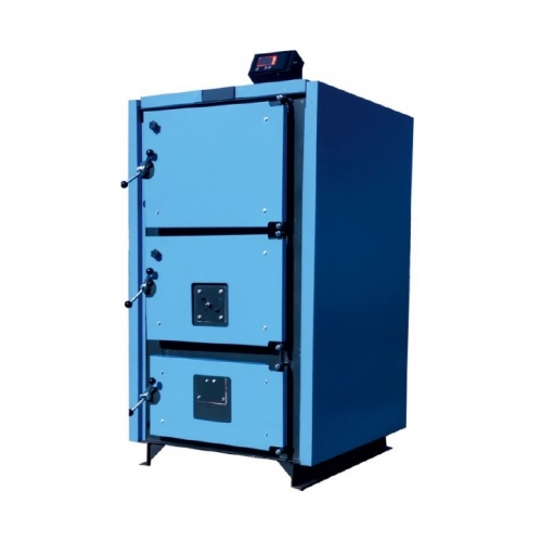 CAZAN COMBUSTIBIL SOLID DIN OTEL THERMOSTAHL MULTIPLEX MCL 80 KW