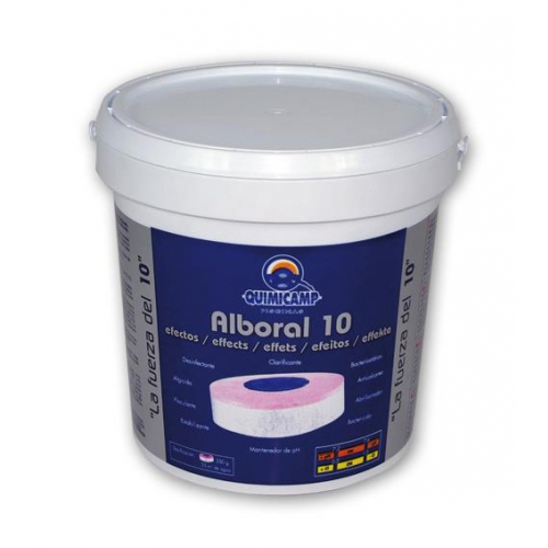 TRATAMENT 10 FUNCTII TABLETE 200 GRAME ALBORAL 10 EFECTS QUIMICAMP - 5 KG