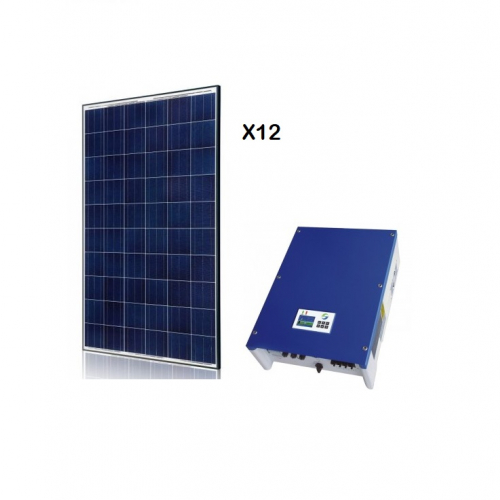 KIT FOTOVOLTAIC ON-GRID 3 KW SOLARRIVER 3400TL