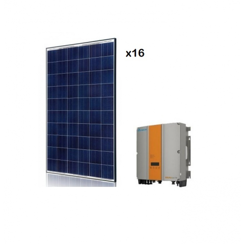 KIT FOTOVOLTAIC ON-GRID 4 KW SOLIVIA 3.3 EU G4 TR
