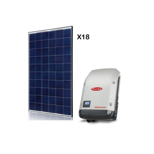 KIT FOTOVOLTAIC SOLAR DE 4500 W ON-GRID FORNIUS SYMO 4.5-3-M