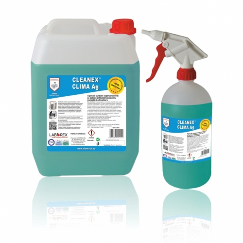 CLEANEX CLIMA AG - AGENT DE CURATARE ANTIBACTERIAN APARATE AER CONDITIONAT - 5 KG
