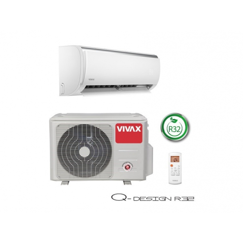 AER CONDITIONAT VIVAX Q-DESIGN ACP-12CH35AEQI WI-FI KIT INSTALARE INCLUS R32 12000 BTU